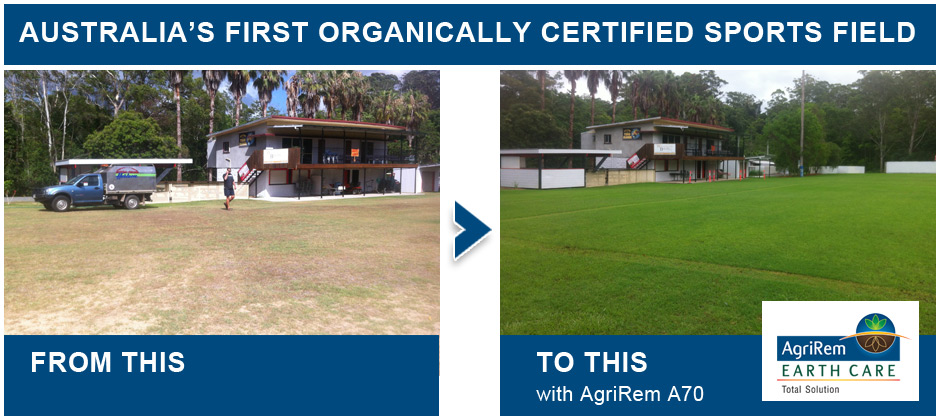 Before and After AgriRem Earth Care